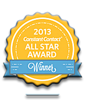 2013 Constant Contact ALL STAR AWARD
